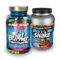Fat Burner 90 cps + Ultra Diet Shake 500g ZADARMO